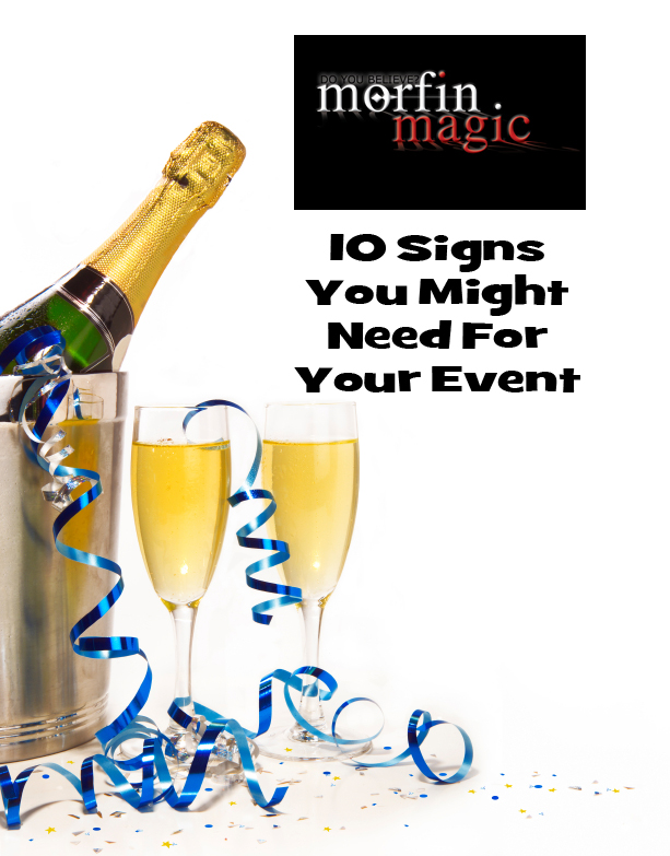 10 Signs For Your Event
