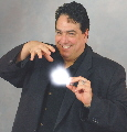 Magician Hank Morfin of Morfin Magic